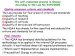 the self evaluation process in greece according to the law no 3374 200517
