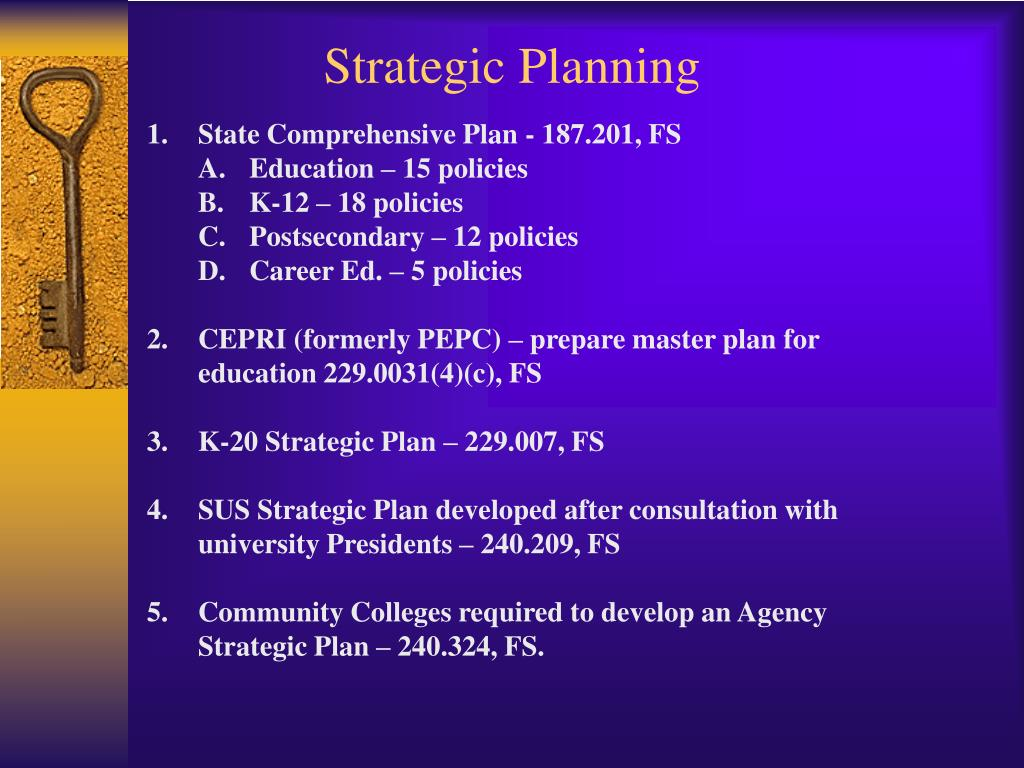 strategic planning l.