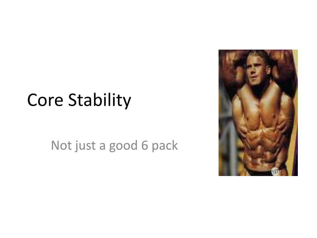 core stability l.