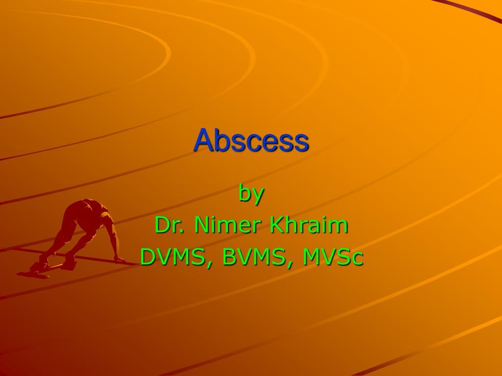 abscess l.