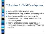 television child development