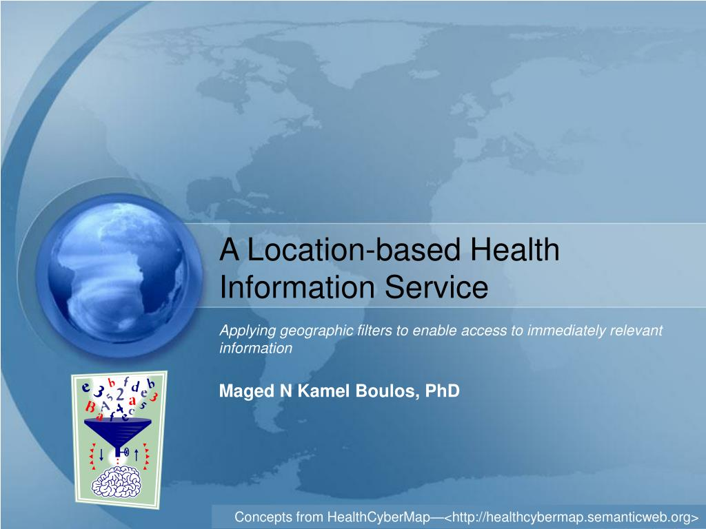 a location based health information service l.