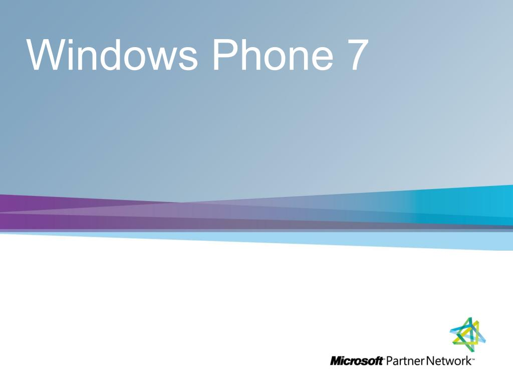 windows phone 7 l.