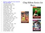chip hilton series for boys