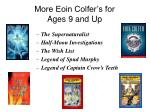more eoin colfer s for ages 9 and up