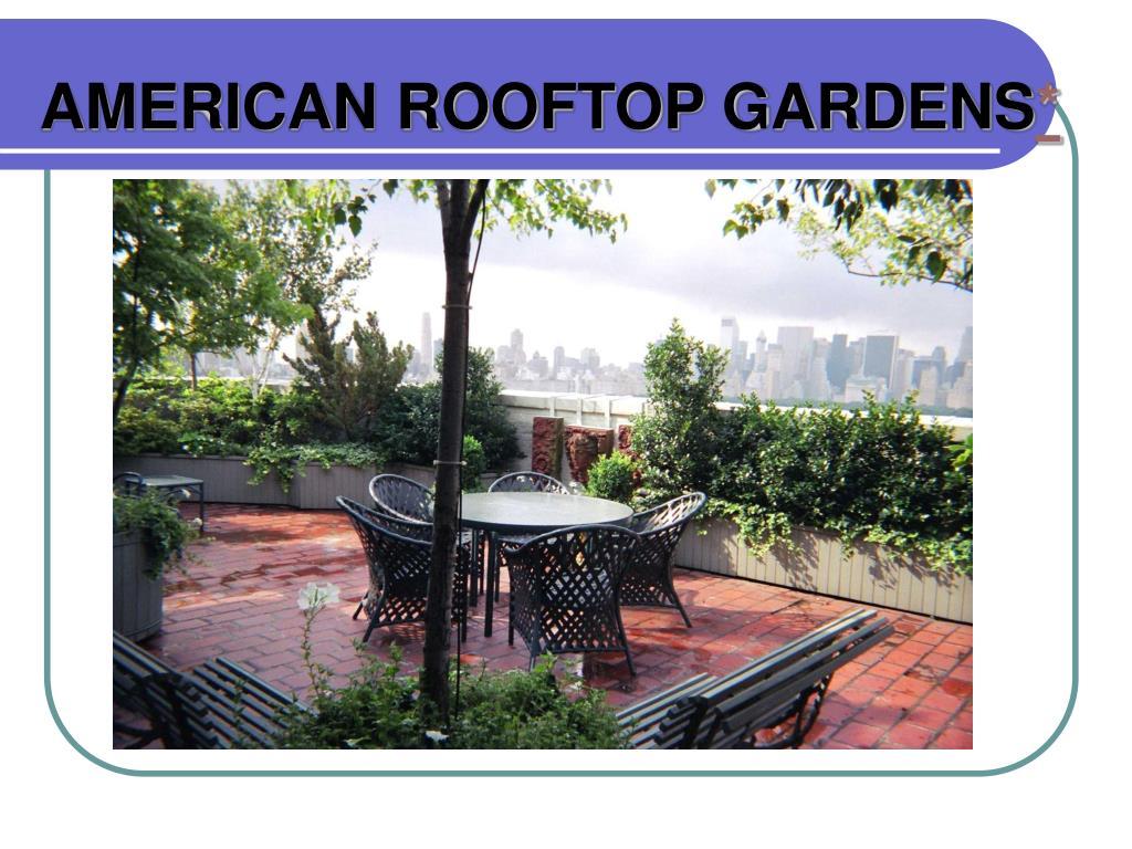 american rooftop gardens l.