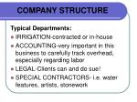 company structure20