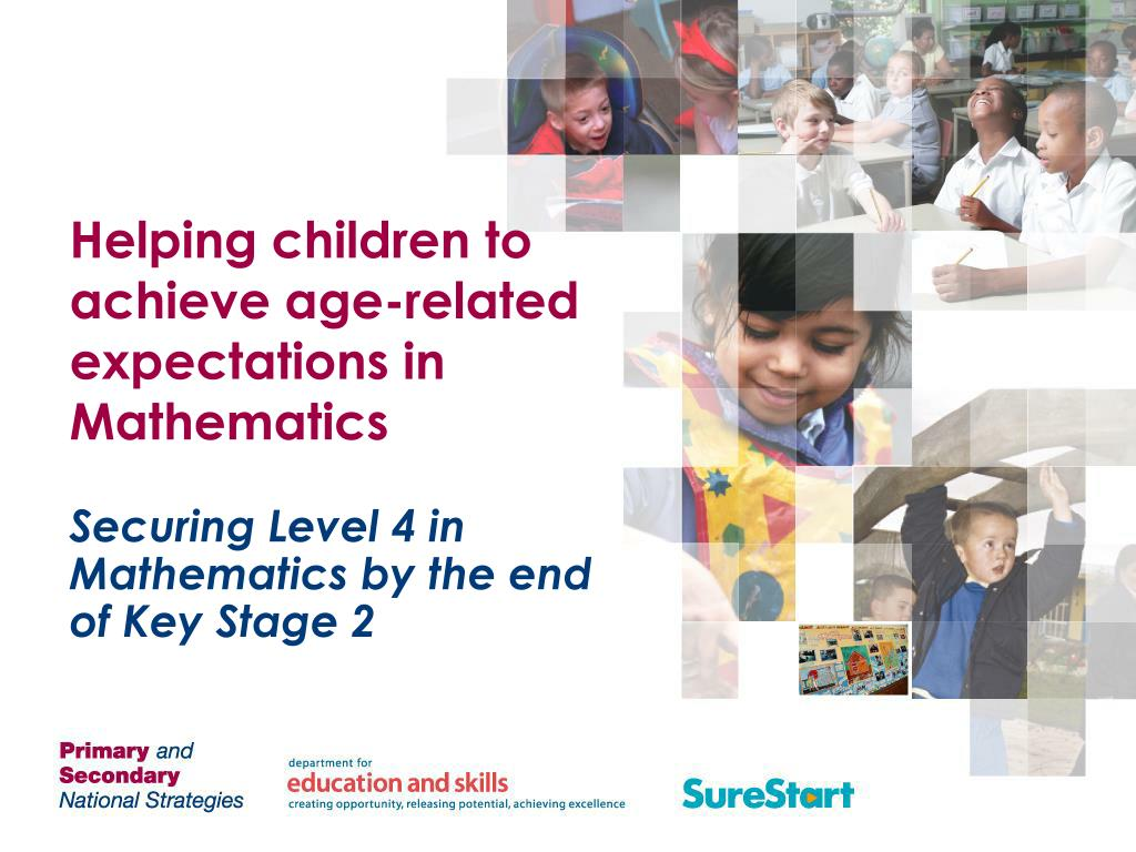 helping children to achieve age related expectations in mathematics l.