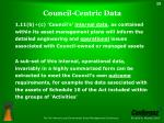 council centric data