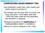 composting saves energy too