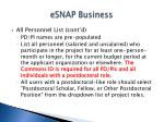 esnap business23