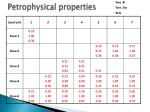 petrophysical properties