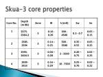 skua 3 core properties