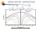energy method imperfections13