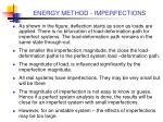 energy method imperfections14
