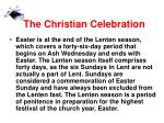 the christian celebration5