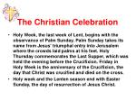 the christian celebration6