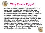 why easter eggs