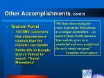 other accomplishments cont d29
