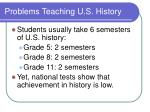 problems teaching u s history4