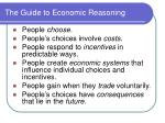 the guide to economic reasoning
