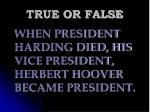 true or false107