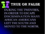 true or false115