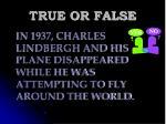 true or false117