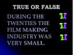 true or false119