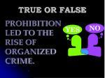 true or false121