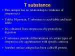 t substance
