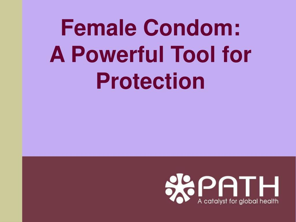 female condom a powerful tool for protection l.