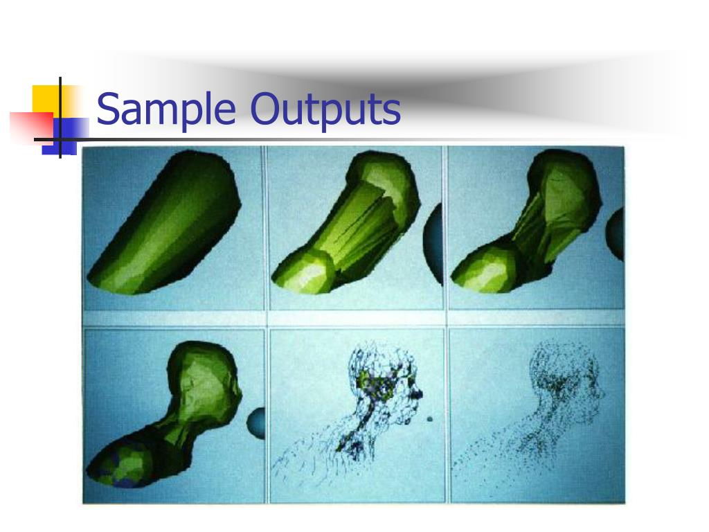 Sample Outputs