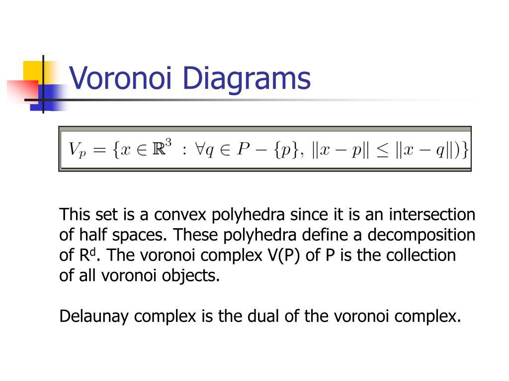 Voronoi Diagrams