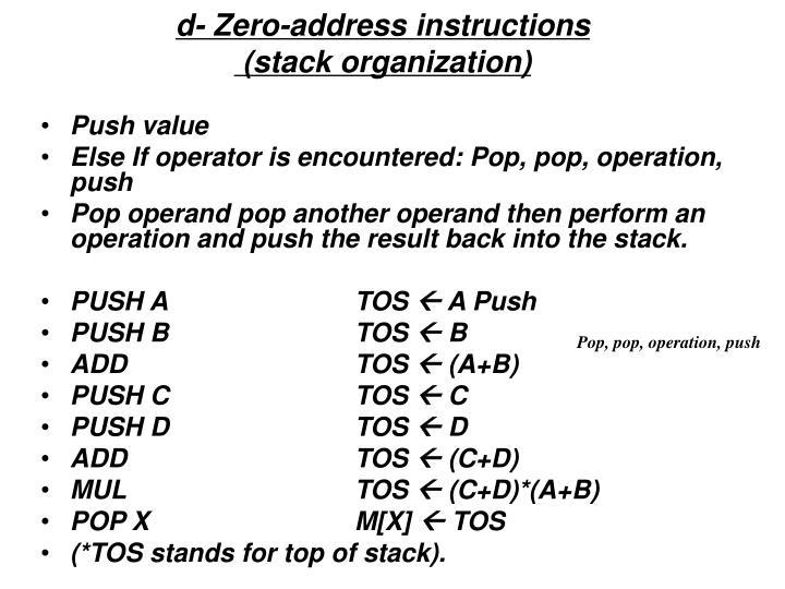 Ppt 83 Stack Organization Powerpoint Presentation Id523701