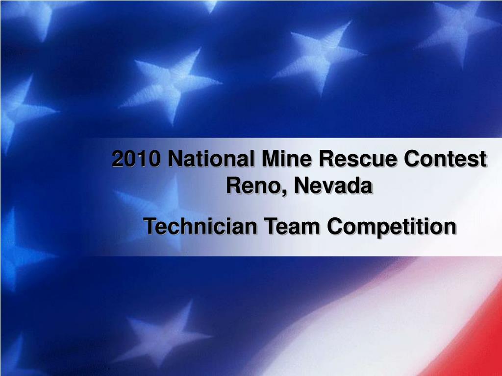 2010 national mine rescue contest reno nevada l.