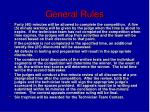 general rules4
