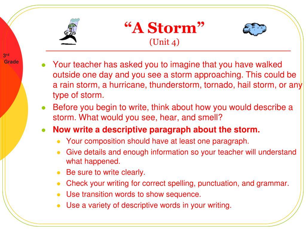 a storm unit 4 l.