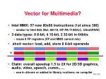vector for multimedia