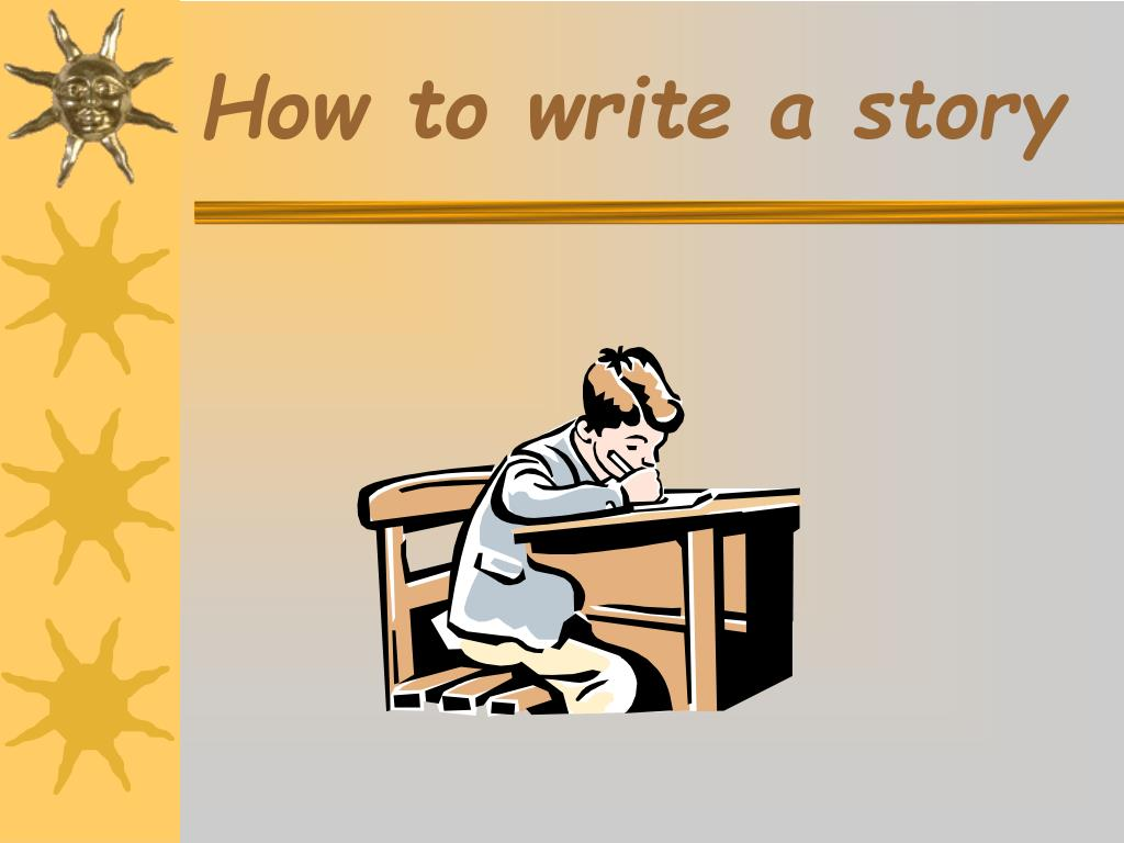 how to write a story l.