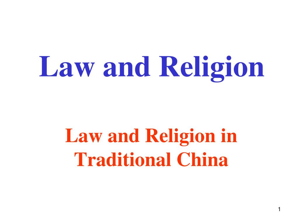 law and religion l.