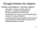 struggle between the religions18