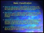 basic classification
