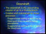 downdraft