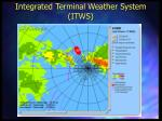 integrated terminal weather system itws103