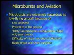 microbursts and aviation