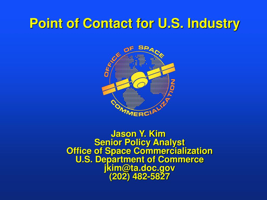 Point of Contact for U.S. Industry