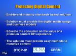 protecting digital content
