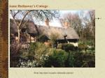 anne hathaway s cottage