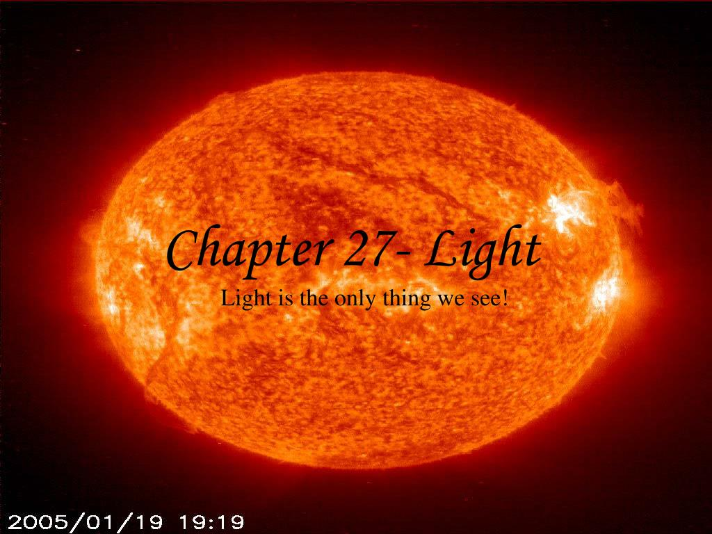 chapter 27 light l.